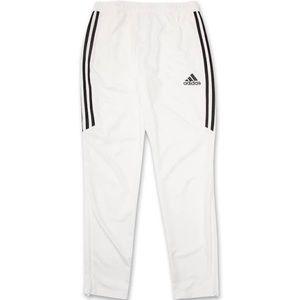 Adidas track pants - white - size large